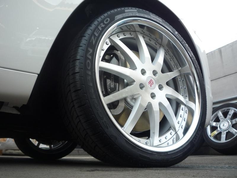 ロールスロイス ゴースト ハイパーフォージド HF213R ブラッシュド カスタム