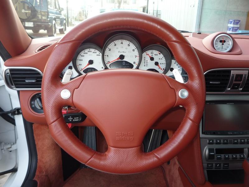ポルシェ 911ターボ  TECHART Formula I 20インチAW  カスタム
