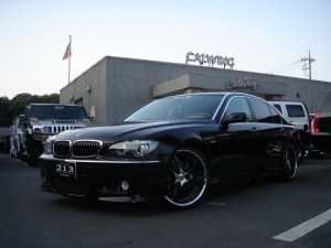 BMW 750LI レーベンハート ハーマンエアロ