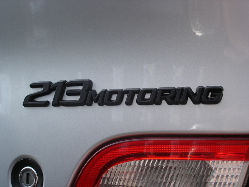 BMW 318i E46 RIEGER-TUNING BBSマットブラック