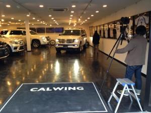 店頭でアメ車マガジンの撮影がありました!!
