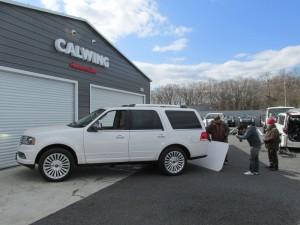アメリカンセレクションNEWガレージ前で雑誌A-CARSの取材がありました!!