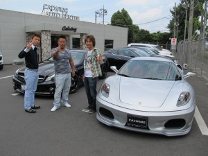 埼玉県坂戸市にお住まいのH社長様に フェラーリ F430 F1をご納車させて頂きました。