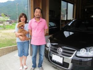 埼玉西武ライオンズ#28 藤原良平投手のご両親様に VW ゴルフR32をご納車させて頂きました。