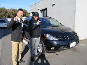 埼玉県新座市にお住まいのK様に 日産 ムラーノ 350XV4 をご納車させて頂きました。