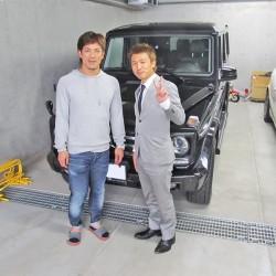 東北楽天ゴールデンイーグルス #7 松井稼頭央選手に 新車 2013y メルセデスベンツ G550をご納車させて頂きました。