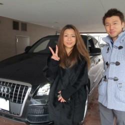 東京都渋谷区のY社長様の奥様に アウディー Q5 Sラインをご納車させて頂きました。