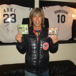 カリスマDJ 宇治田みのるさんがお車の点検と共に遊びに来てくださいました。