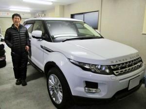 東京都北区のK様に 2台目のご購入となる 新車 レンジローバー イヴォークをご納車させて頂きました。