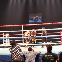 キックボクシング×エンターテイメントBIGBANGのフランキー・ロペティ選手にBIGBANG統一への道~其の十三にご招待いただきました。