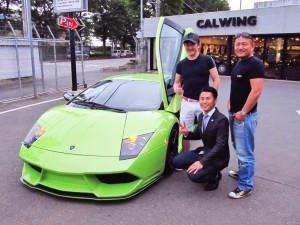 東京都港区にお住まいのM様にランボルギーニムルシエラゴ 超希少カラーをご納車させて頂きました。