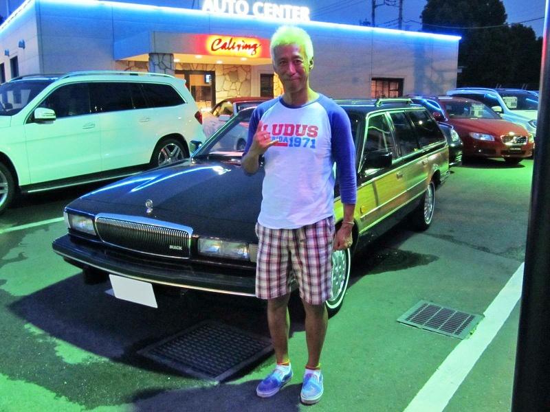 カリスマDJ宇治田みのるさんに ビュイック リーガルエステートをご納車させていただきました。