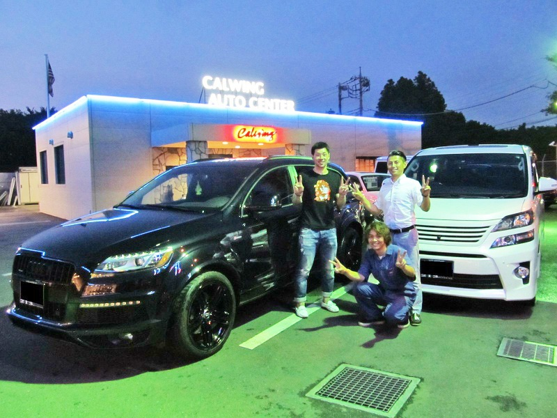 埼玉西武ライオンズ #27 炭谷銀仁朗選手に 新車 トヨタ ヴェルファイア をご納車させて頂きました。