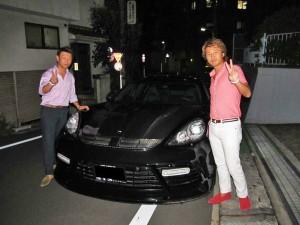 東京都渋谷区のY社長様にパナメーラターボ マンソリーコンプリートをご納車させて頂きました。