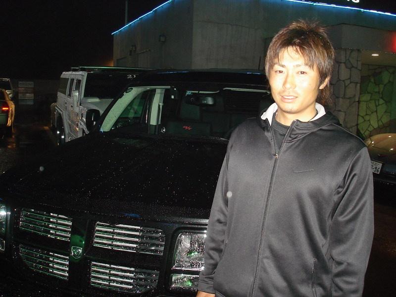 埼玉西武ライオンズ 星 秀和選手に ダッジ ナイトロ をご納車させていただきました。