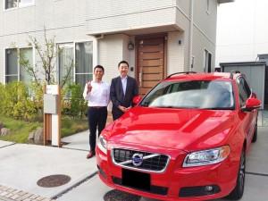 宮城県仙台市にお住まいのY様に ボルボ V70 をご納車させて頂きました。