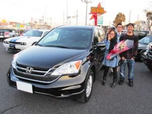 神奈川県横浜市にお住まいのU様に USホンダ CR-Vをご納車させて頂きました。