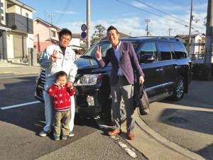 兵庫県加古郡のM社長様に 新車 USレクサス LX570 をご納車させていただきました。