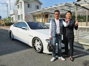 大阪府のT社長様に BMW M6 HAMANN をご納車させて頂きました。