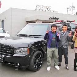 埼玉県行田市のH様に レンジローバーヴォーグをご納車させて頂きました。