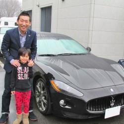 東京都のT社長様に マセラティ グラントゥーリズモS  MCシフト をご納車させて頂きました。