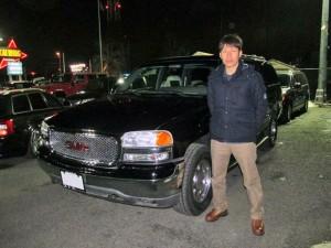 神奈川県厚木市のO様に GMC ユーコンXL をご納車させて頂きました。