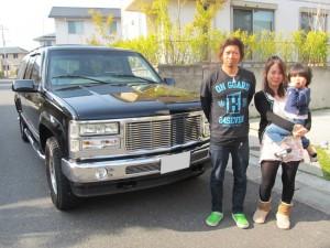 茨城県日立市のU様に GMC サバーバン をご納車させていただきました。