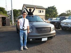 東京都世田谷区のW様に 07y GMCユーコン マットグレー フルカスタムをご納車させて頂きました。