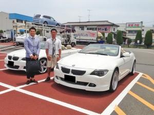 愛媛県にお住いのT様にBMW 650I カブリオレ ALPINA左ハンドルをご納車させて頂きました。