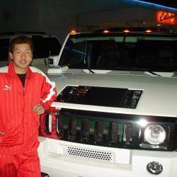 埼玉西武ライオンズ 銀仁朗選手にハマーH2をご納車させていただきました。