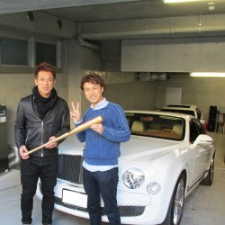 東北楽天ゴールデンイーグルス #7  松井稼頭央選手に ベントレー ミュルザンヌ をご納車させていただきました。