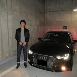 埼玉西武ライオンズ #11 岸孝之投手に 新車 アウディA1 スポーツバック をご納車させて頂きました。