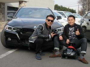 いつも大変お世話になっておりますカリスマ美容師のK様に2014y BMW320iツーリング Mスポーツをご納車させて頂きました。