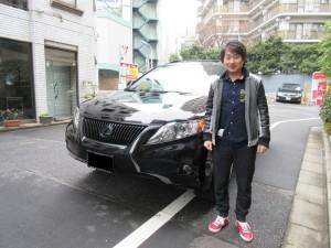 東京都のN様にUSレクサス RX350をご納車させて頂きました。