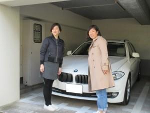東京都のO様に BMW 523ツーリング ハイライン をご納車させて頂きました。