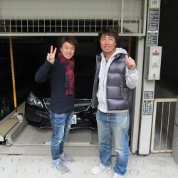 東京ヤクルトスワローズ #99 高津臣吾コーチにメルセデスベンツE350クーペをご納車させて頂きました。