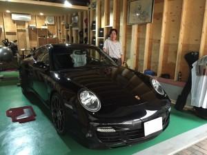 埼玉県のN様に ポルシェ 997ターボ をご納車させていただきました。