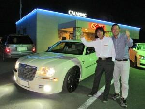 2台目のご購入ありがとうございます! 埼玉県のM社長様に 09y クライスラー 300C 限定車ヘリテイジエディション をご納車させていただきました。