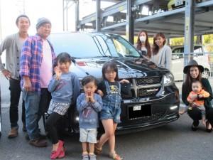 2台目のご購入ありがとうございます!! 大阪府のK様に ダッジ グランドキャラバン DAYTONA EDITION をご納車させていただきました。