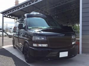 埼玉県のS様GMC サバナ リッツデザイン リムジンをご納車させて頂きました。