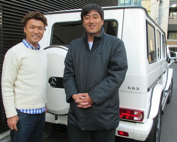 石井一久さんに 新車 メルセデスベンツ G63 AMG をご納車させていただきました。