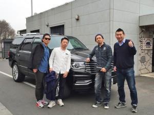 東京都のN様に 新車 リンカーン ナビゲーター をご納車させていただきました。