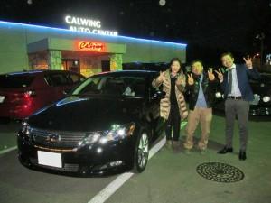 千葉県のM様に レクサス GS 450h バージョンL をご納車させていただきました。