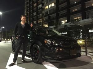 東京都のN社長様に、ダッジ グランドキャラバンをご納車させて頂きました。