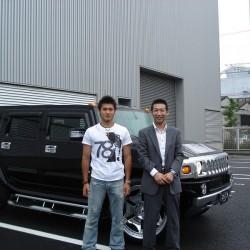 中日ドラゴンズ 中田賢一投手にH2をご納車させて頂きました。
