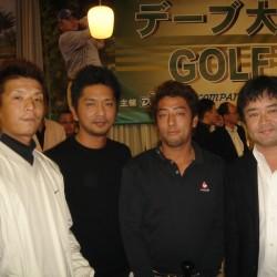 デーブ大久保さん主催 『第5回デーブ大久保ゴルフイベント』に参加させていただきました。