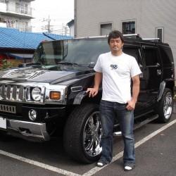 埼玉西武ライオンズ 野田浩輔選手に ハマー H2 をご納車させていただきました。