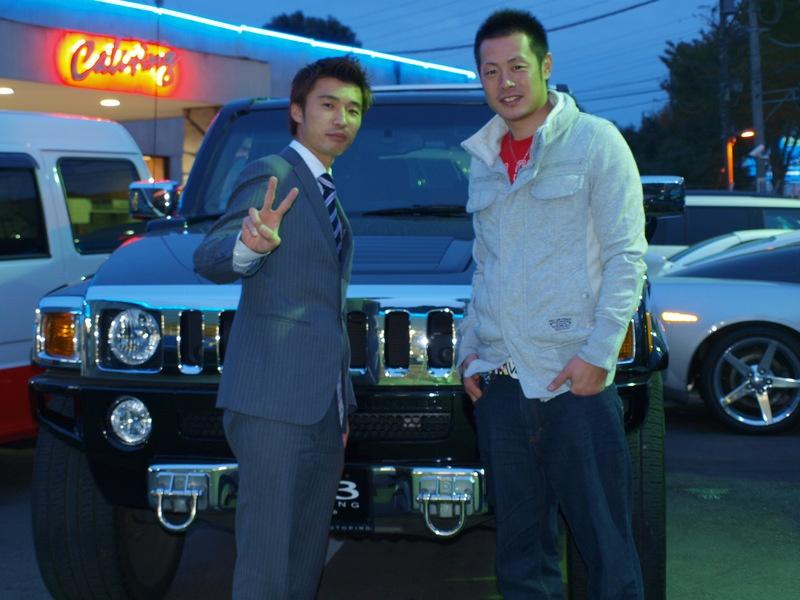 読売ジャイアンツ 亀井義行選手 に新車ヴェルファイアをご納車させていただきました。