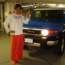 スポーツコメンテーター・元読売ジャイアンツ宮本和知さんの愛車を点検でお預かりさせて頂き、ご納車させて頂きました。