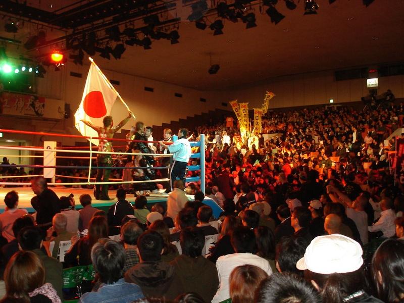 練馬区のN社長様にボクシング観戦をご招待して頂きました。